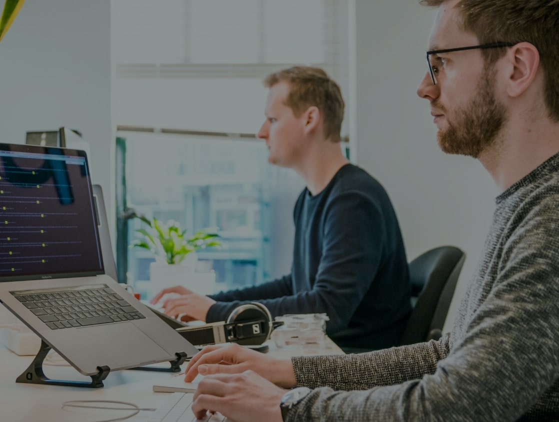 Developers coding